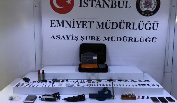 Gürcistanlı kasa hırsızları yakalandı