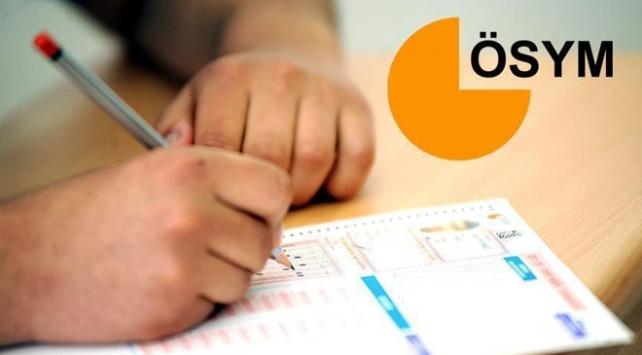 ÖSYMnin sınavlarında 8 milyon aday ter döktü