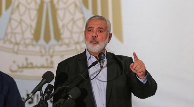Hamas lideri İsmail Heniyye, Umman, BAE ve Bahreyne tepki gösterdi