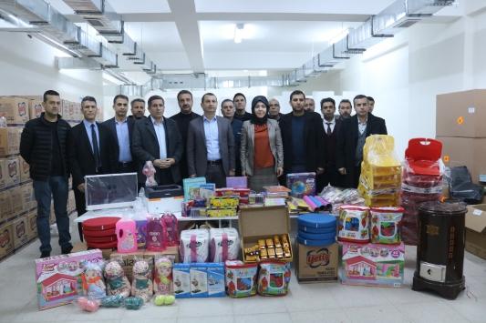 Bismil Belediyesinden eğitime destek