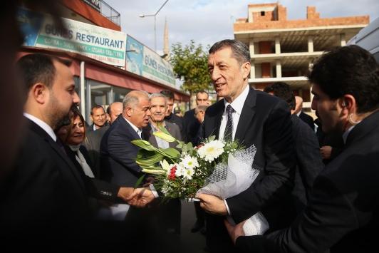 Milli Eğitim Bakanı Bakanı Ziya Selçuk Antalyada eğitimcilerle buluştu