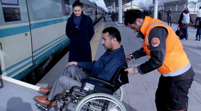 Turuncu Masadan 2 bin 513 engelli yolcu yararlandı