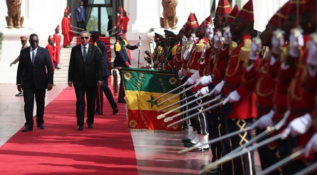 Türkiye ve Senegalin ekonomik hacmi Cumhurbaşkanı Erdoğanın ziyareti ile ivme kazandı