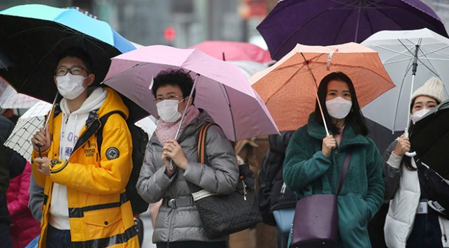 Güney Korede 2 yeni koronavirüs vakası tespit edildi