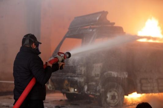 Tel Abyadda bombalı terör saldırısı: 2 ölü