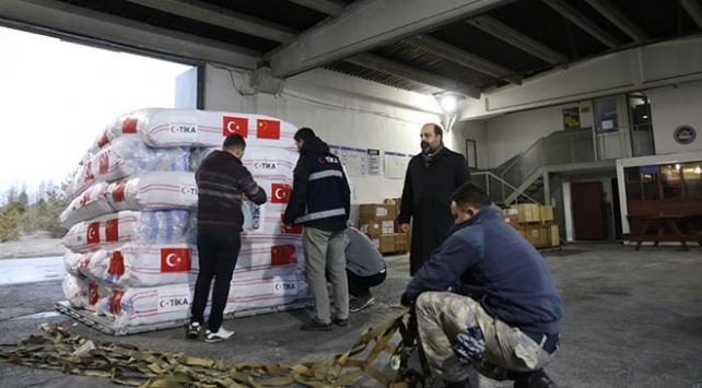 Türkiye koronavirüs salgınıyla mücadeleye destek veriyor