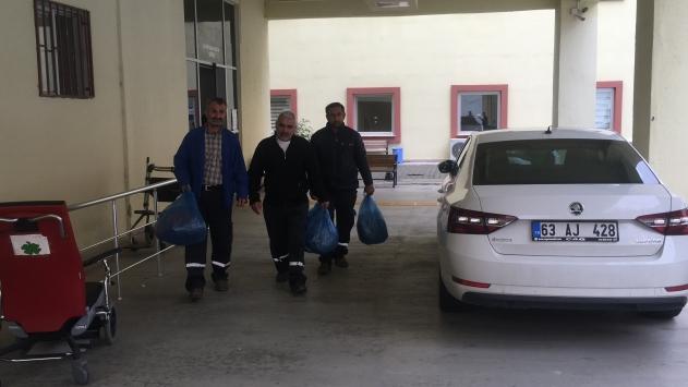 Kimyasal madde zehirlenmesi şüphesiyle hastaneye kaldırılan 3 işçi taburcu edildi