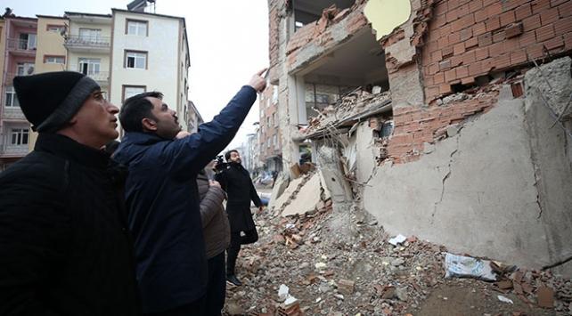 Deprem bölgesinde hasar tespit çalışmalarının yüzde 40ı tamamlandı