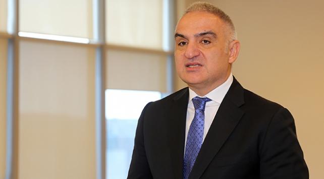 Kültür ve Turizm Bakanı Ersoydan koronavirüs açıklaması