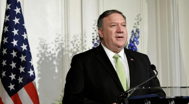 """ABD Dışişleri Bakanı Pompeodan Çin Komünist Partisi için """"asıl tehdit"""" nitelemesi"""