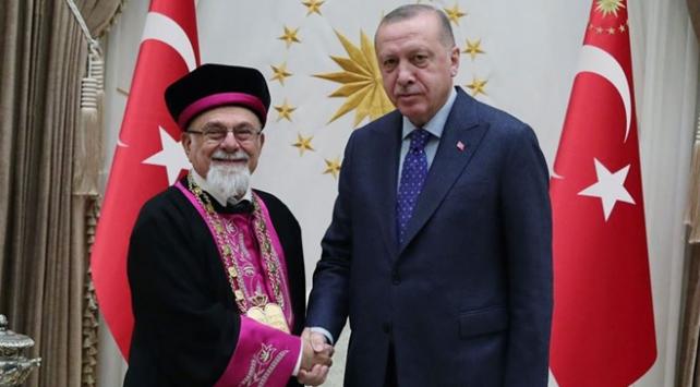 Cumhurbaşkanı Erdoğan Türk Musevi heyetini kabul etti