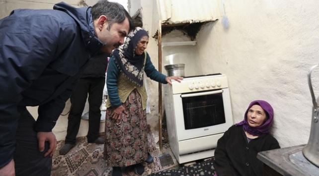 Bakan Kurumdan depremzedelere yardım eli