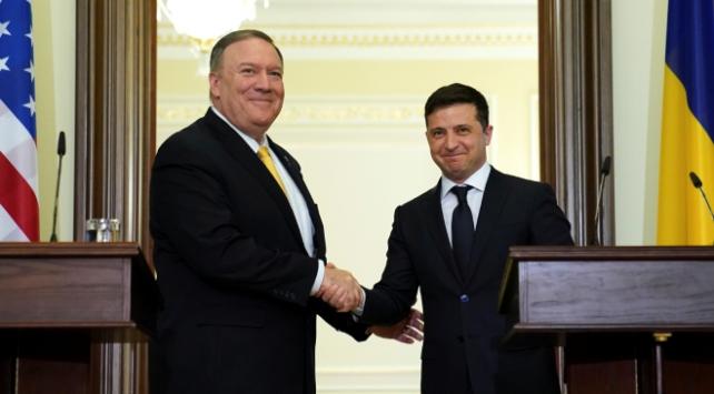 ABD Dışişleri Bakanı Pompeodan Ukraynanın NATO üyeliğine destek mesajı