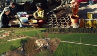 Şehirden kaçıp tarımsal üretime gönül verenler