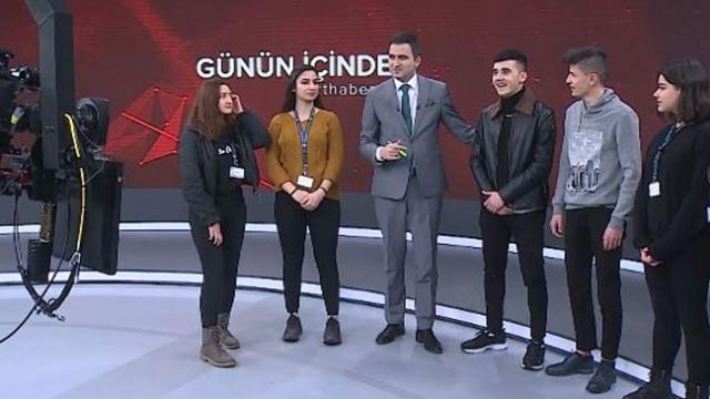 Son 3 yılda 4 binden fazla öğrenci TRT'de staj imkanı buldu