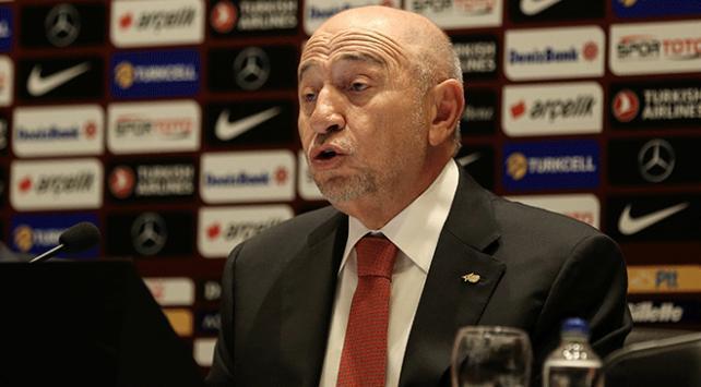 TFF Başkanı Özdemir: Herkesin futbol ortamından şikayeti var ancak çözüm önerisi yok