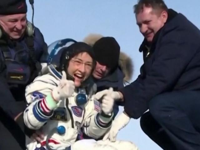 Soyuz MS 13 Dünyaya döndü