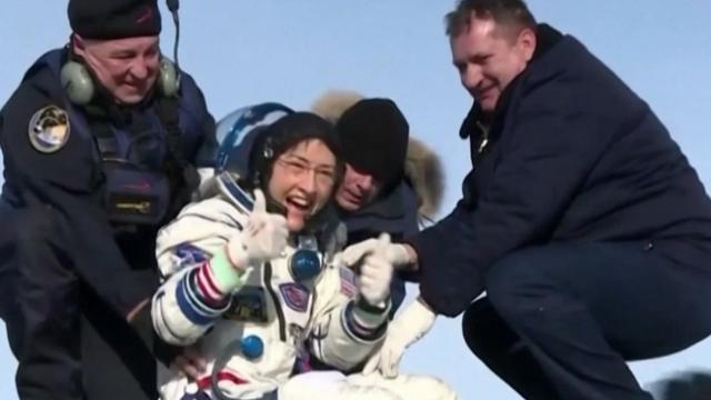Soyuz MS 13 Dünya'ya döndü