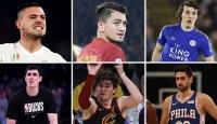 Milli sporcularımız kulüplerinin gözdesi