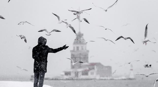 İstanbulda beklenen kar akşam saatlerinde etkili olacak