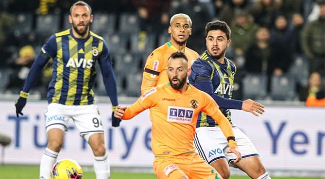 Fenerbahçe-Aytemiz Alanyaspor 1-1 berabere kaldı