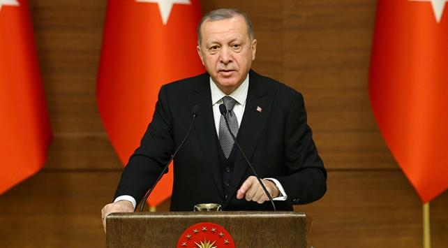 Cumhurbaşkanı Erdoğan: Kudüsü tamamen gasp eden planı tanımıyoruz