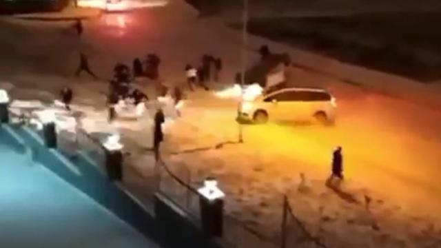 Samsun'da buz pistine dönen sokaklar kazalara sebep oldu