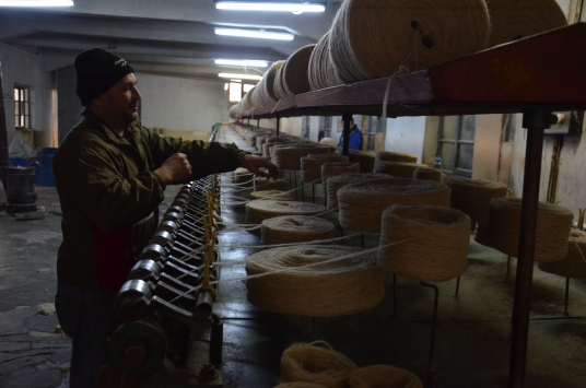 Manisanın tarihi iplik fabrikası 87 yıldır üretimde