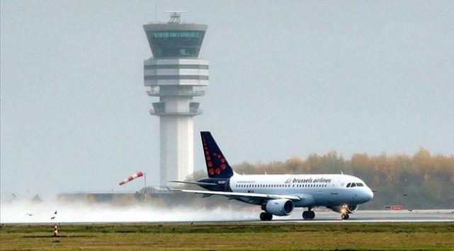 Brükselde Ciara fırtınası nedeniyle 60 uçuş iptal edildi
