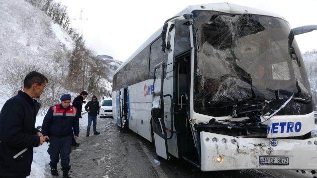 Orduda zincirleme trafik kazası: 6 yaralı