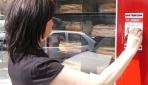 Fransada Ekmekler Otomattan