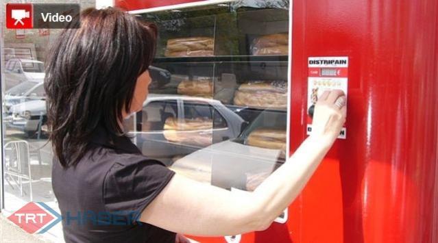 Fransada Ekmekler Otomattan Alınıyor