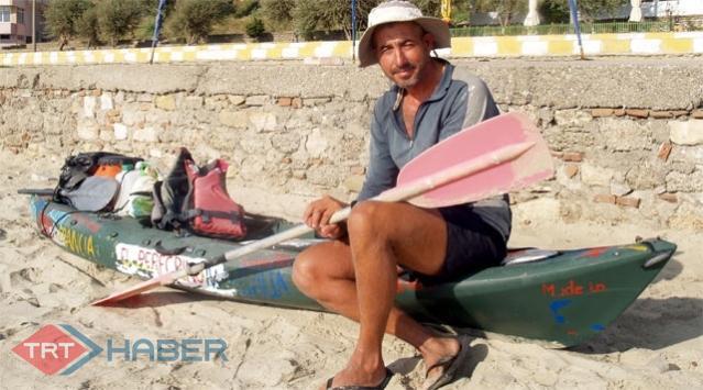 Amacı Tüm Akdenizi Kanoyla Dolaşmak