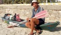Amacı Tüm Akdeniz'i Kanoyla Dolaşmak