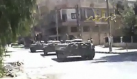 Suriye Birlikleri Humus'ta