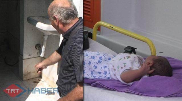 Bir Haftalık Bebek Tuvalete Bırakıldı