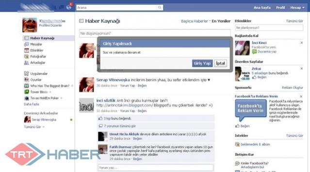 Facebookta yenilik