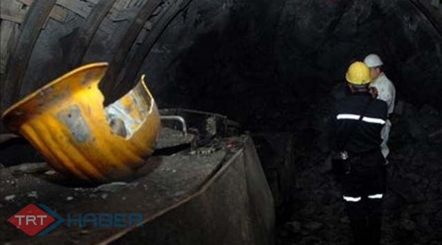 Manisada maden ocağında göçük