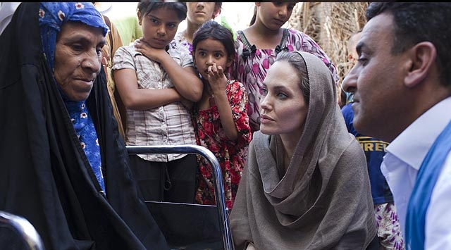 Angelina Jolie Bu Kez Bağdatta