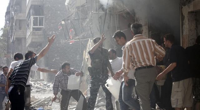 Suriyede İç Savaş Sürüyor