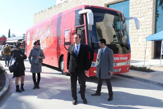 Kooperatifçilik Otobüsünün ilk durağı Adana oldu