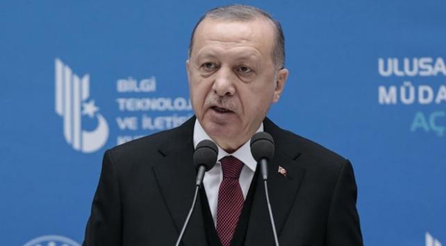 Cumhurbaşkanı Erdoğan: Veri güvenliği sınırlarımızın güvenliği kadar önemli