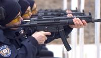 Kadın polislerin zorlu eğitimi
