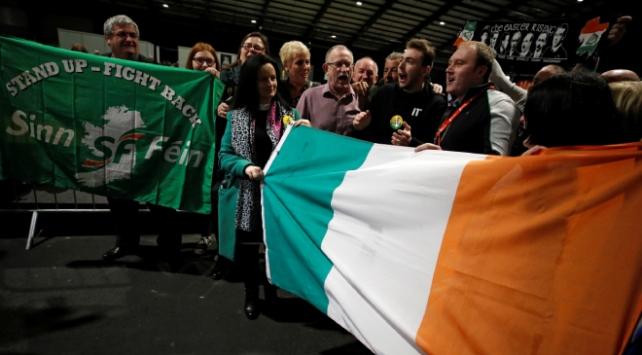 IRAnın siyasi kanadı Sinn Fein, İrlandada seçimin galibi oldu
