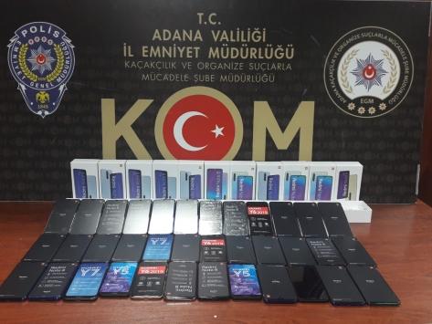 Adanada kaçakçılık operasyonu: 3 gözaltı