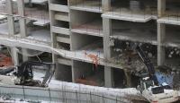 Ordu'da üst ölçekli yapıların yıkımına başlandı