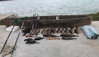 Beyşehir Gölü'nde elektroşokla balık avlayanlara 420 bin lira ceza kesildi