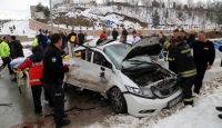 Kastamonu'da kamyon ile otomobil çarpıştı: 6 yaralı