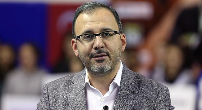 Bakan Kasapoğlu: Liglerin başlangıç tarihiyle ilgili çalışmalar sürüyor