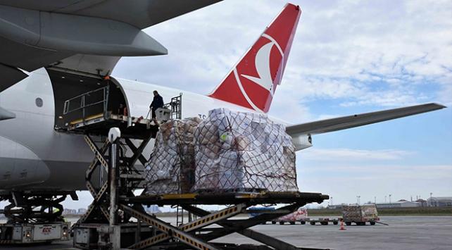 Turkish Cargo, Çine tonlarca yardım taşıdı